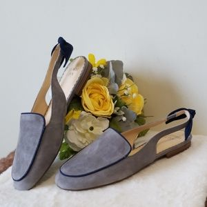 NWOT Crown & Ivy suede flats size 7